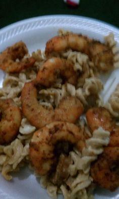 Beautiful Shrimp Alfredo #SundaySupper @mwyche2