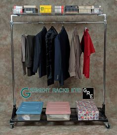 A clothes rack can be used in many ways. They can provide extra room for dresses, suites, sweatshirts, pants, shorts, shoes, and other clothing accessories. They are also portable so you are not limited to where you store a clothes rack. Garment Rack also offers ones that have platform tops that can hold objects other then clothing. Visit this site to see all the options Garment Rack offers. http://www.garmentrack.com/