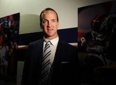 Peyton Manning finishes up his Broncos introductory news conference
