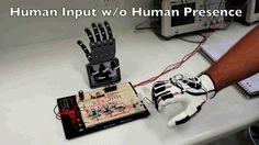 Sensor Glove Driven Robot Hand