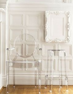 Louis Ghost Chair (and Stool): Happy 10th Anniversary #Kartell