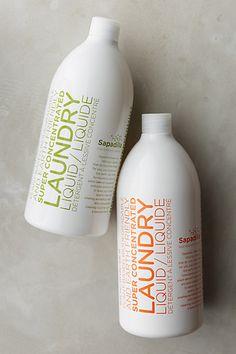 sapadilla laundry liquid - non toxic laundry care #anthrofave