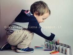 Alta Priorità: Attività bambino 2 anni e il portamatite multicrom...