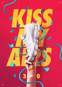 KISS MY AIRS ® Nike 30th Anniversary on Behance