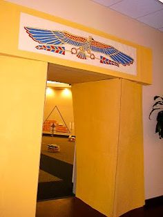 Entrance to the Great Hall. All Shall Be Well: VBS: Joseph's Journey