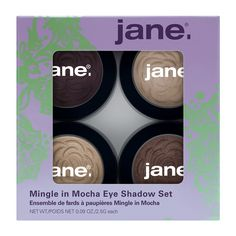 Jane Cosmetics Eyeshadow Set