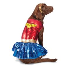 Wonder Woman Dog Halloween Costume (Discontinued 2012 - Cute Dog Halloween Costume)
