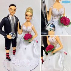 #noivinhospersonalizados 💖 #futebol ⚽️❤️ #biscuit #caketopper #caraarteembiscuit #noivasdobrasil #noiva #buquepink #buquedenoiva #noivas #noivinha #topodebolo #topodebolodecasamento #wedding #weddingcake #weddingcaketopper #universodasnoivas #weddingdress #casamento ❣Orçamentos: caraarteembiscuit@yahoo.com.br, ou mensagem inbox na página https://facebook.com/caraarteembiscuit