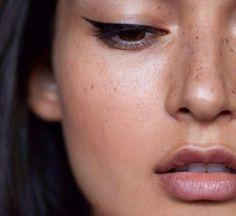 Makeup. Wings. Eyeliner