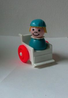 Vintage Fisher Price Little People Wheelchair and by thatmakemejoy, $12.00