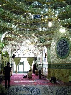 Shah Cheragh (Mirror Masjid): Shiraz, Iran Arrowhead Vintage: Stop and Stare Persian Architecture, Art And Architecture, Amazing Architecture, Beautiful Mosques, Beautiful Places, Shiraz Iran, Iran Travel, Tehran Iran, Bagdad