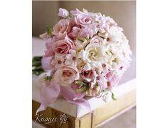 Buquê de noiva rosa