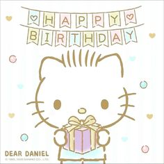 Hello Kitty Imagenes, Hello Kitty Birthday, Picts, Sanrio, Little Girls, Snoopy, Fictional Characters, Toddler Girls, Fantasy Characters