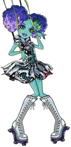 All about Monster High: Honey Swamp Freak Du Chic artwork