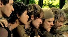 Will, Djac, Robin, Much, and Little John