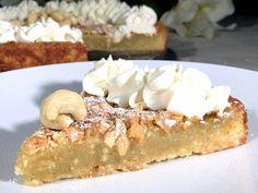 Glutenfri cashewnötkaka | Glutenfria godsaker Food N, Food And Drink, Grandma Cookies, Fruit Bread, Baked Donuts, Baking Flour, Little Cakes, Paleo Dessert, No Bake Desserts