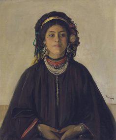 Aïda, a Moorish Maid - John Lavery