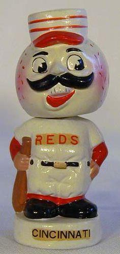 Cincinnati Reds vintage baseball bobblehead
