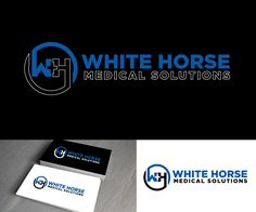 White Horse Medical Solutions Serious, Professional Logo Design by logooffers