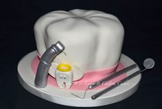 Dental Tooth birthday cake