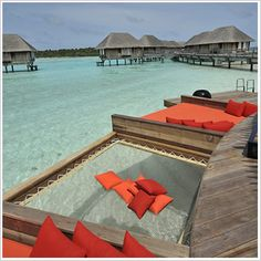 Resorts are not my thing - but I want an over-the-water hammock like at Club Med Maldives!, Resorts will not be my factor - however I would like an over-the-water hammock like at Membership Med Maldives! Resorts will not be my factor - howeve. Vacation Places, Dream Vacations, Vacation Spots, Places To Travel, Maldives Destinations, Maldives Honeymoon, Best Maldives Resorts, Maldives Islands, Inclusive Resorts