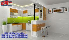 tủ bếp, tủ bếp gia đình, tủ bếp gỗ, tủ bếp gia đình, tủ bếp mfc, tủ bếp acrylic