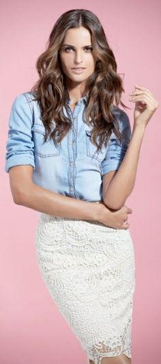 Izabel Goulart ~ SuiteBlanco Spring 2014 Campaign