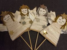 Winter Crafts For Kids, Winter Kids, Projects For Kids, Art Projects, Advent, Guardian Angels, Angel Ornaments, Art Activities, Holiday Crafts