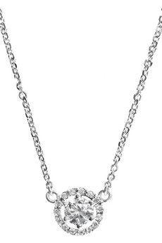 Spectrum  Ella 18-karat white gold diamond necklace