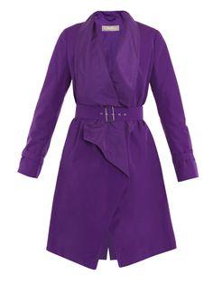 MaxMara #Purple Trench @MatchesFashion #FashionWeek 8.26.12