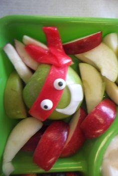 Ninja turtle apple