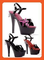 Penthouse Women's Naomi PH601 Platform Shoes,Fuchsia Patent,6 M US - Pumps for women (*Amazon Partner-Link)