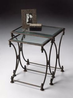 4012025 - BEVERLY METAL NESTING TABLES