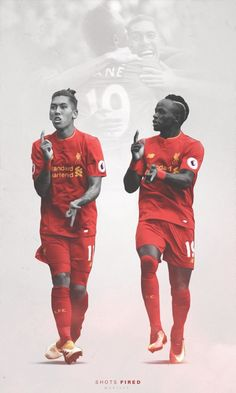Liverpool Football Club - LFC - Roberto Firmino Sadio Mane