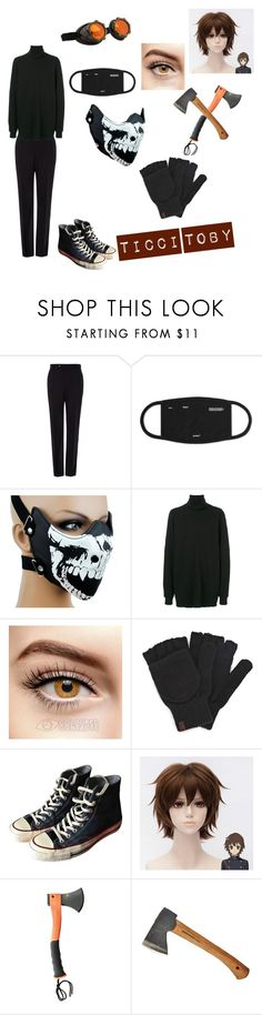 """""""Ticci Toby"""" by slendyschild4113 on Polyvore featuring Paul Smith, DRKSHDW, Keds and Converse"""