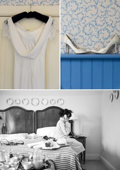 True Blue. April Wedding, Blue Color Schemes, Up Hairstyles, Wedding Planning, Bride, Wedding Dresses, Wedding Bride, Bride Dresses, Hairdos