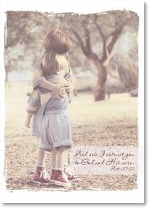 Praying For You Card - Sending a hug and a prayer; Acts 20:32 | Kathleen Francour | 2001844-P | Leanin' Tree