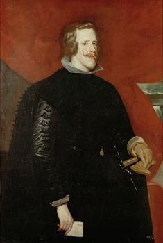 Diego Rodríguez de Silva y Velázquez  1599 Sevilla - Madrid 1660    King Philip IV of Spain (1605-1665)