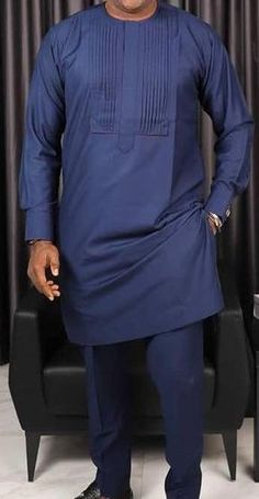 Mens Style Discover Items similar to tony mens clothing/African clothing/tunic/African mens clothing/Ankara mens clothing /African kaftan /African mens attire/groom suit. on Etsy African Wear Styles For Men, African Shirts For Men, African Dresses Men, African Attire For Men, African Clothing For Men, Nigerian Men Fashion, Indian Men Fashion, Mens Fashion Suits, Wedding Dresses Men Indian