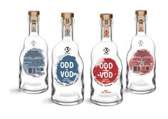 Odd-Vod by 3 Ugly Spuds Distillery. Packaging assignment - create packaging and brand extension for a new Australian craft spirit distillery. I developed Odd-Vod, premium fruit infused craft vodka utilising odd-shaped and oversupply fruit and veg that are… Apple Fruit, Fruit And Veg, Cool Packaging, Bottle Design, Distillery, Craft Beer, Vodka Bottle, Liquor, Branding Design