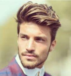 Image result for Light Brown Hair Men Highlights