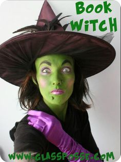 book witch costume halloween