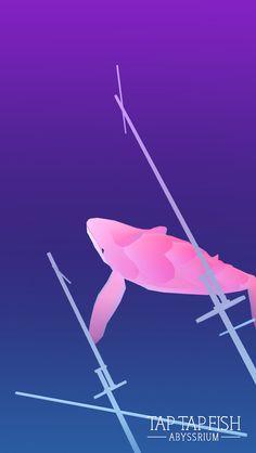 Mon Baleine cœur:) #taptapfish Download: http://onelink.to/jhe4sh