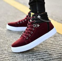 Dress With Sneakers, Casual Sneakers, Leather Sneakers, Leather Men, Sneakers Fashion, Casual Shoes, High Top Sneakers, Fall Shoes, Men's Shoes