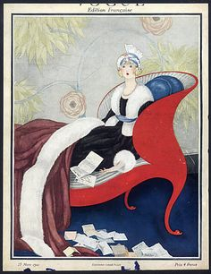 George Plank 1921 Vogue Cover
