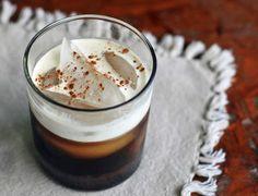 Iced Mexican Coffee with Café De Olla | Girl Cooks World (cinnamon, cloves, anise, chocolate syrup, coffee liquor optional)