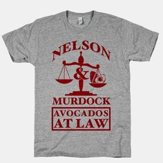Nelson & Murdock Avocados At... | T-Shirts, Tank Tops, Sweatshirts and Hoodies | HUMAN