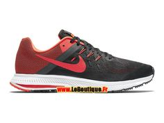 Nike Zoom Winflo 2 - Chaussure de Running Nike Pas Cher Pour Homme Noir/Anthracite/Blanc/Cramoisi brillant 807276-006