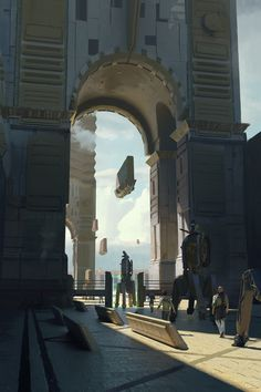ArtStation - Gates, Balazs Agoston