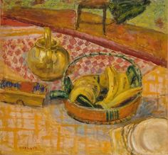 Pierre Bonnard - Panier de bananes (1926)